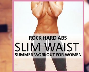 Rock Hard Abs - Slim Waist Workout for Women