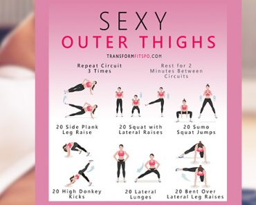 outer thigh exercises