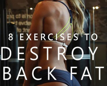exercises to get rid of lower back fat