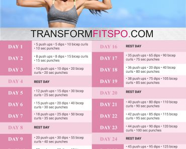 perfect biceps 30 day challenge