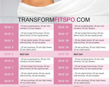 perfect body 30 day challenge